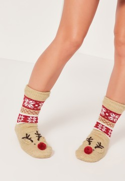 Missguided Christmas Socks