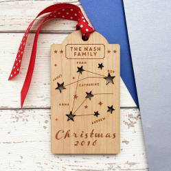 Not on the High-street Christmas Tag